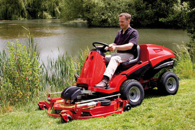 Ride-on-Lawnmower